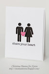 Share Your Heart Card by Christina Heeren