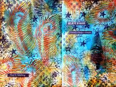 Believe in magic - art journal