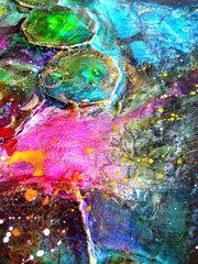 Mixed media art journal