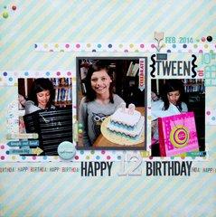 Happy 12th Birthday