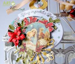 Christmas orament card