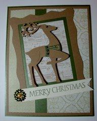 Merry Christmas Reindeer 2