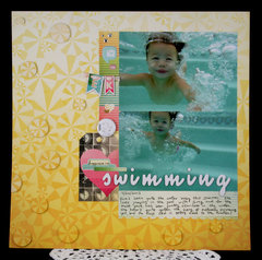 Happiness is Swimming Layout