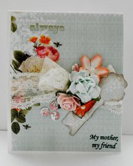 Clean and Simnple Mothers Day Card