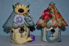 3-D Susan's Garden Birdhouse