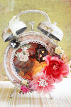 Secret Garden Assemblage Clock