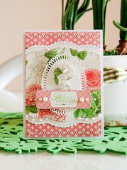 Spellbinders Hello Friend Card