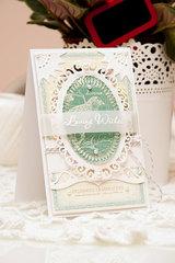 Spellbinders Loving Wishes Card