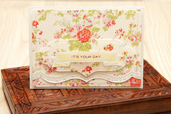 Spellbinders Its Your Day Card