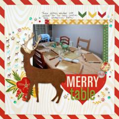 Merry Table *Glitz Design*