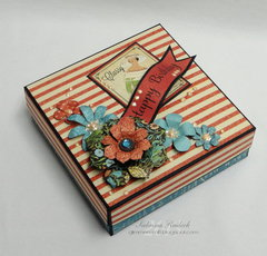 Couture Happy Birthday Card in a Box #4