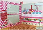 baby girl chipboard album