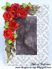 Designer inspired frame
