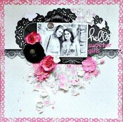 Scraps of Elegance kits 'Hello Summer Girls