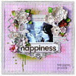 Scraps of Elegancekits/Sizzix 'Happiness'