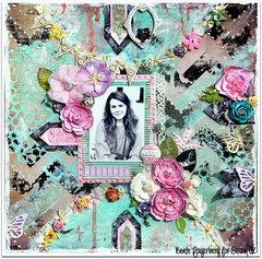 Scraps of Elegance kits / Sizzix UK DT  *Victoria*