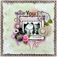 Scraps of Elegance April kit 'Flutter' *You*