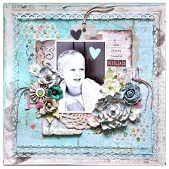 'Silas' Scraps of Elegance kits / Prima Seashore collection