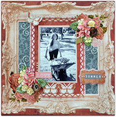 Scraps of Elegance Jan kit  'LOve Summer'.