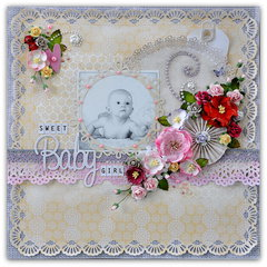'Sweet Baby Girl' for Papirdesign