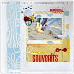 Les Papiers de Pandore ''Summer Souvenirs**.