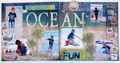 A day at the ocean (Disney Vacation Book)