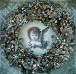 Cherub in a Wreath