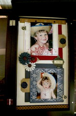 Cowboy hat shadowbox