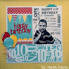 10 Birthday - Sarah Edens