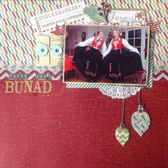 First Christmas in bunad