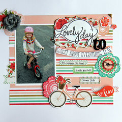 Lovely My Creative Scrapbook Main kit Sept