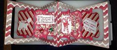 Sizzix accordion Christmas card