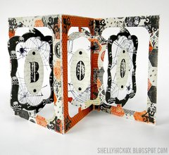 Pop it Ups Boo Accordion Card