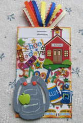 School Time Library Card