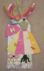 Park Stroll Dress Form Tag