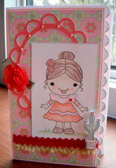 Rosa From Mexico Card