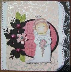 Tilda Bride Card
