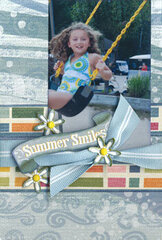 Summer Smiles Photo Mat <i>by Donna Bryant Durand</i>