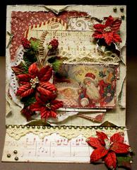 Merry Christmas Easel Card *Swirlydoos Kit Club*