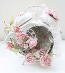 Shabby Chic Altered Clock *Swirlydoos Kit Club*