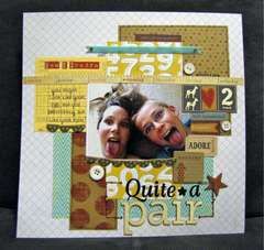 Quite a Pair *The Sampler Kit Club* Jan 2012 kit