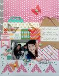 ~ my happy place ~ **Elle's Studio August kit**