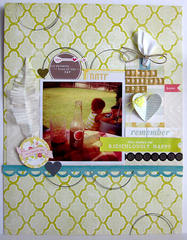 ~ summer mornings ~ **Scrapbook Circle**
