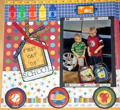 1st day of PreK 08 P1 D