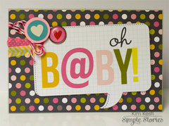 Oh B@BY! Card