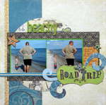 Beachy Road Trip (Scraptastic Club DT)