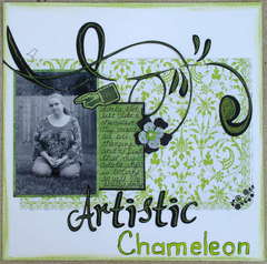 Artistic Chameleon-The Story Matters Challenge