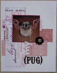 My (Not so Angelic) Pug