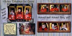 Three Cousins in cars revised