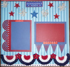 Stars n Stripes fireworks n buntings